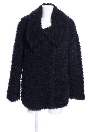 C&A Giacca in eco pelliccia nero stile casual