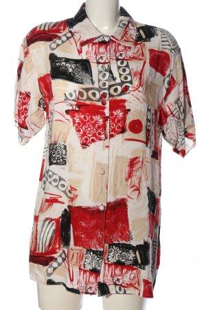 C&A Shirt met korte mouwen abstract patroon casual uitstraling