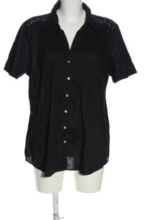 C&A Camicia a maniche corte nero stile casual