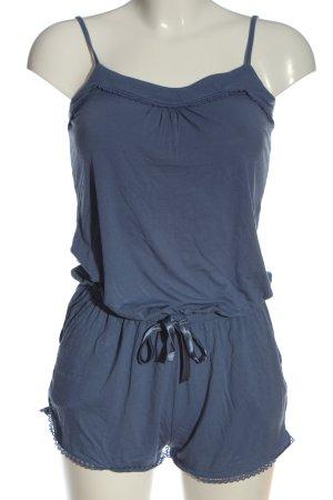 C&A Kurzer Jumpsuit blau Casual-Look