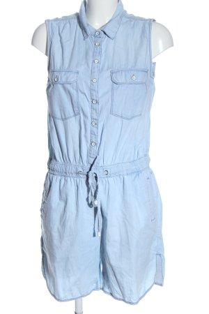 C&A Kurzer Jumpsuit azul look casual
