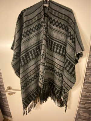 C&A Poncho multicolored