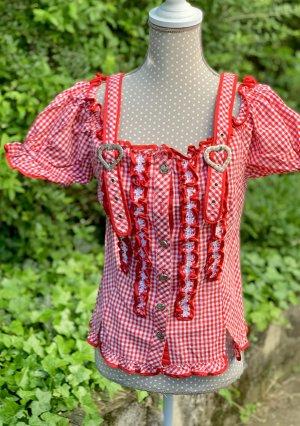 C&A Tradycyjna bluzka czerwony-biały