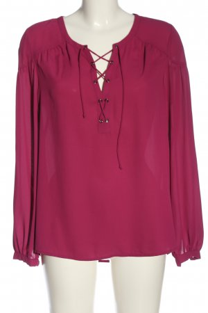 C&A Langarm-Bluse pink Casual-Look