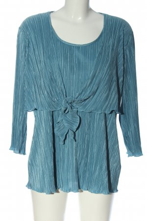 C&A Langarm-Bluse blau Elegant