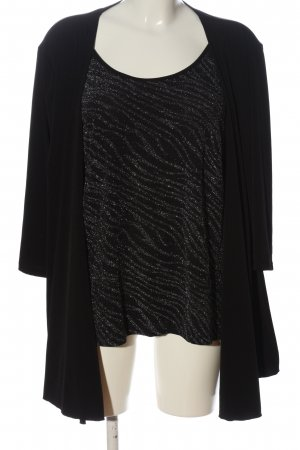 C&A Langarm-Bluse schwarz Casual-Look