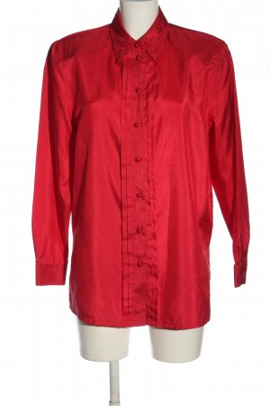 C&A Langarm-Bluse rot Casual-Look