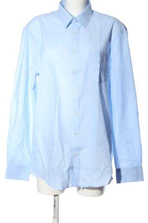 C&A Langarmhemd blau Business-Look