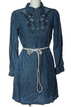 C&A Langarmkleid blau Casual-Look