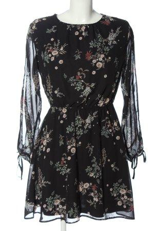 C&A Vestido de manga larga estampado repetido sobre toda la superficie elegante