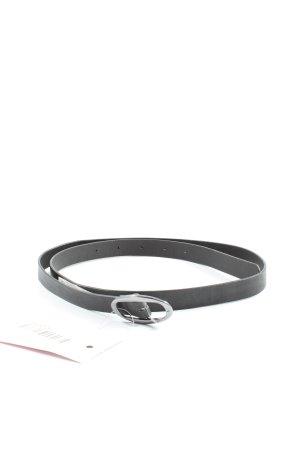 C&A Cintura di pelle nero stile casual