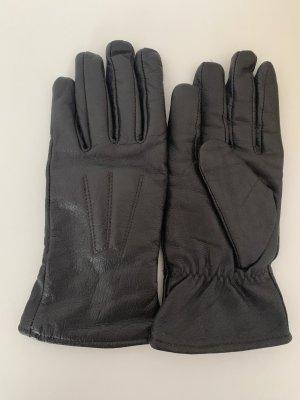 C&A Leren handschoenen zwart