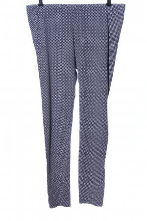 C&A Leggings blau-weiß Allover-Druck Casual-Look