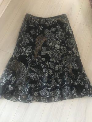C&A Spódnica z falbanami Wielokolorowy Poliester