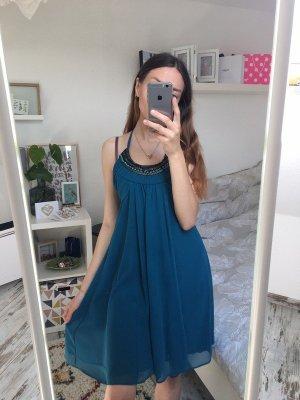 C&A Sukienka z dekoltem typu halter Wielokolorowy