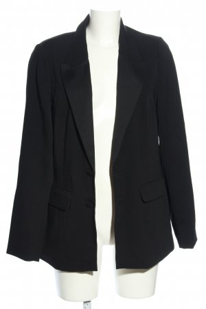 C&A Long-Blazer schwarz Business-Look
