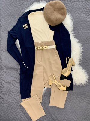 C&A Cardigan en crochet bleu foncé-bleu