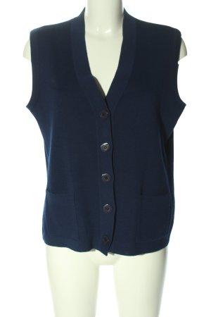 C&A Longstrickweste blau Business-Look