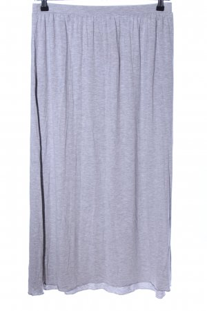 C&A Maxi Skirt light grey flecked casual look