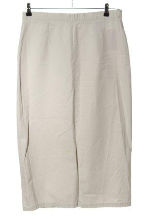 C&A Spódnica midi w kolorze białej wełny Elegancki