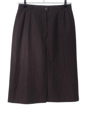 C&A Spódnica midi brązowy W stylu biznesowym