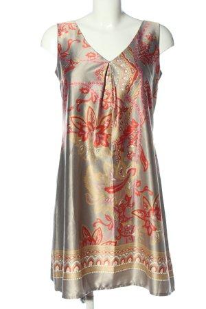 C&A Mini vestido estampado gráfico look casual