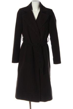 C&A OUTERWEAR Manteau long noir style décontracté