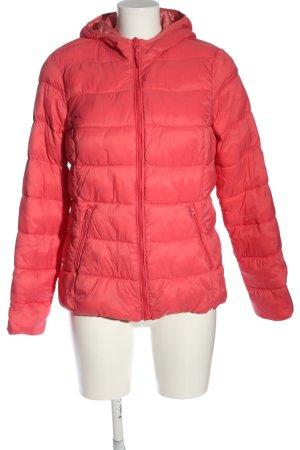 C&A OUTERWEAR Gewatteerd jack rood quilten patroon casual uitstraling