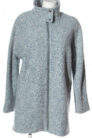 C&A OUTERWEAR Overgangsjas blauw-wolwit Webpatroon casual uitstraling
