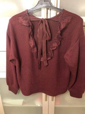 C&A Crewneck Sweater bordeaux-carmine