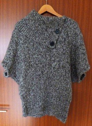 C&A Pullover Grau meliert Strick 36 38 S