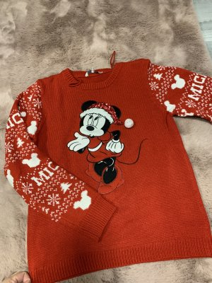 C&A Clockhouse Christmasjumper red-white