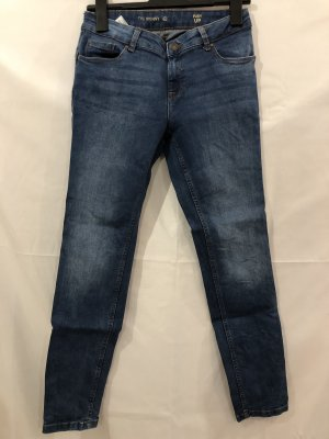 C&A Tube jeans blauw