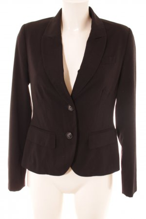 c.a.r.o. Kurz-Blazer braun Business-Look