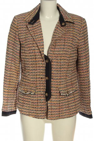 c.a.r.o. Blazer en tweed motif rayé style décontracté