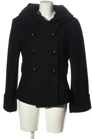 c.a.r.o. Manteau en laine noir style décontracté