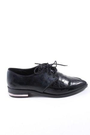 C&A Haft richelieu czarny W stylu casual