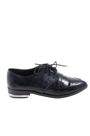 C&A Zapatos estilo Richelieu negro look casual