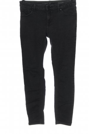 C&A Tube Jeans black casual look