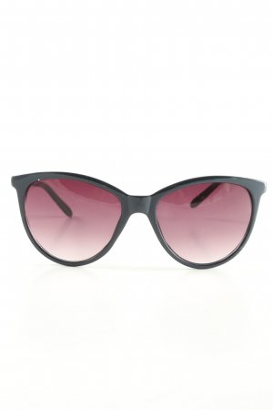 C&A Round Sunglasses black-natural white business style