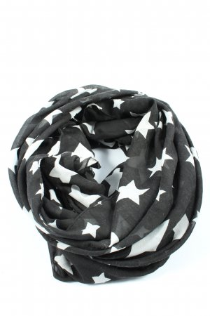 C&A Snood black-white allover print casual look