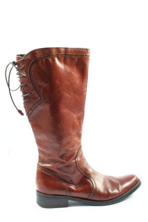 C&A Bottes à l'écuyère brun style décontracté