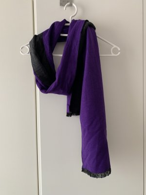 C&A Écharpe en soie multicolore