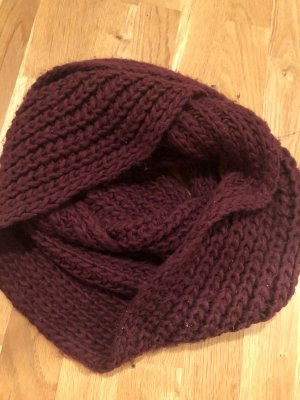 C&A Knitted Scarf bordeaux