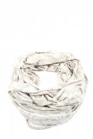 C&A Tube Scarf light grey-white allover print casual look