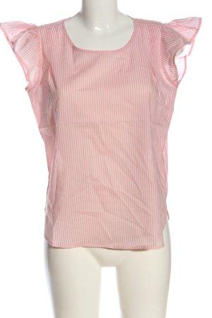 C&A Schlupf-Bluse pink-wollweiß Allover-Druck Elegant