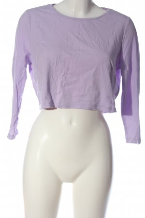 C&A Schlupf-Bluse lila Casual-Look