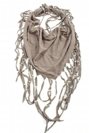 C&A Châle au tricot gris clair style décontracté