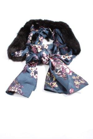 C&A Zijden sjaal bloemenprint casual uitstraling