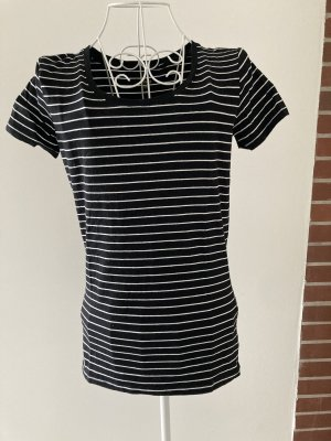 C&A Basics T-Shirt black-white